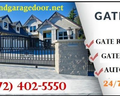 Local Automatic Gate Installation And Repairs ($25.95) Flower Mound Dallas, 75022 TX