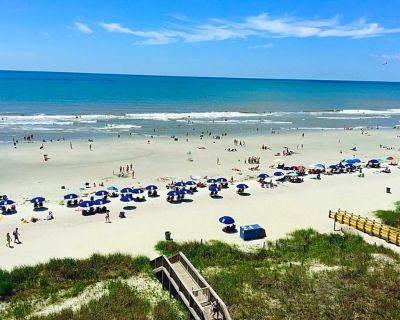 Beautiful Oceanfront Condo in Cherry Grove ***New Tile Floors Throughout*** - Crescent Beach
