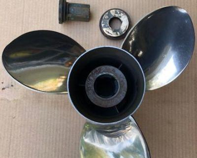 Quicksilver Silverado SS prop 13.125 x 16