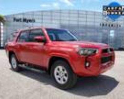 2019 Toyota 4Runner Red, 19K miles