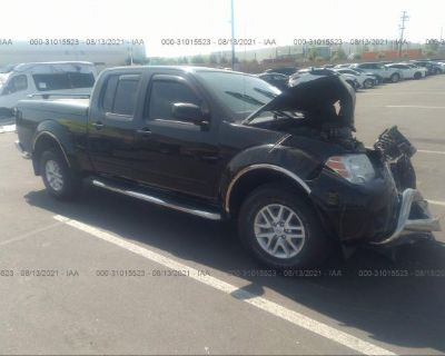 Salvage Black 2015 Nissan Frontier