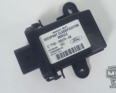 2007 Ford Edge Occupant Classification Module 7t43-19g275-ak