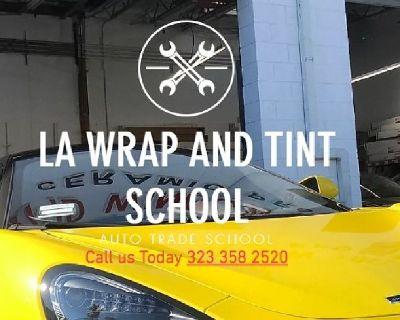 LA Wrap and Tint School