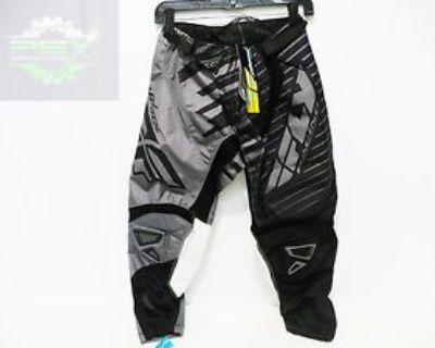 Fly Racing Kinetic Shock Pants Black/grey New Size 28 Waist