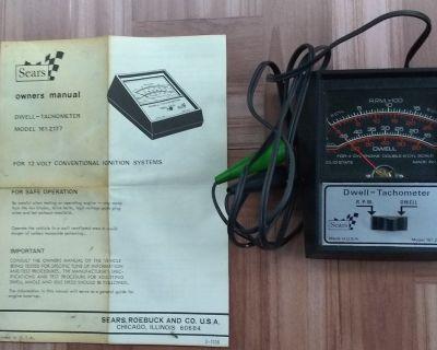 Sears Dwell-Tachometer