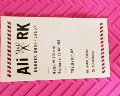 ARK SALON 4834 w 79 st Burbank IL. Call 7088907105