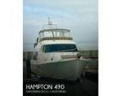 49 foot Hampton 49