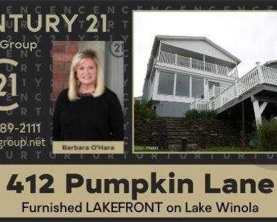 Furnished LAKEFRONT on Lake Winola (MLS# 21-3759) By CENTURY 21 Select Group