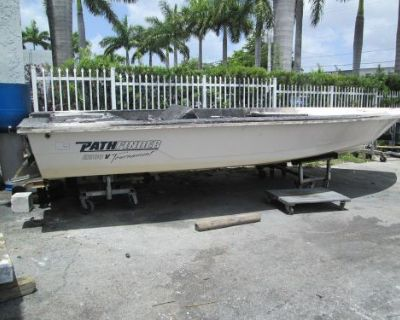 2004 Boat Pathfinder 2200 V Hull With Florida Clear Title