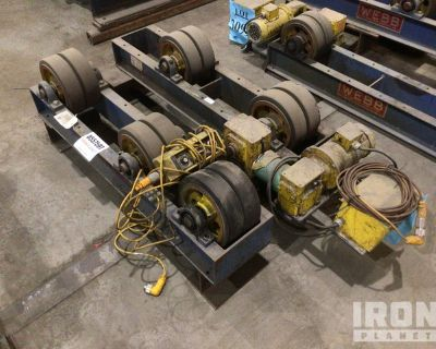 Webb T6-PWR & T6-IDL Electric Pipe Roller System