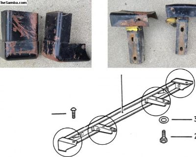 Thing Front Bumper Mounting Brackets