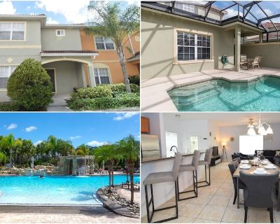 Stunning 5 bed/4 bath townhome, splash pool, resort amenities, Disney 7 miles! - Four Corners