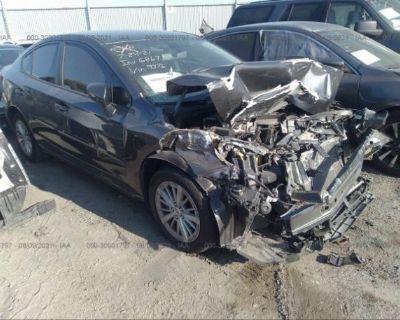 Salvage Gray 2018 Subaru Impreza