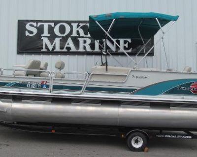 1998 Sun Tracker Fishin' Barge 21 Signature