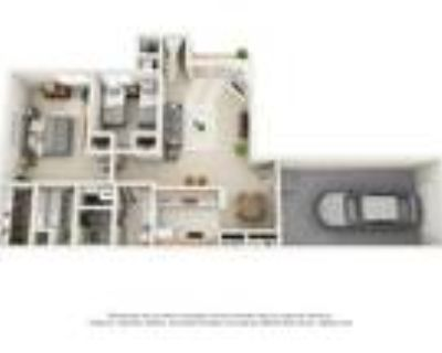 Wood Creek Apartments - Two Bedroom - Attached Garage