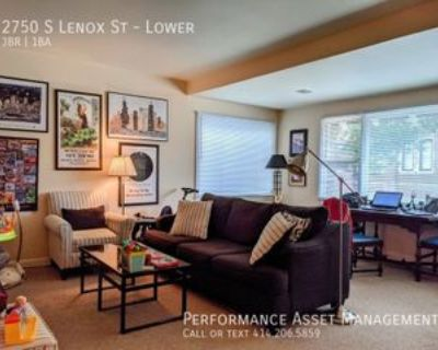 2750 S Lenox St #LOWER, Milwaukee, WI 53207 3 Bedroom Apartment