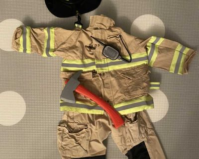 Halloween firefighter outfit