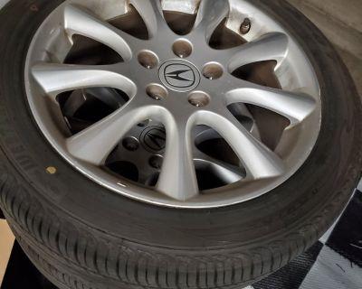 FS: 2007-2008 OEM Acura TSX Enkei Wheels and Tires