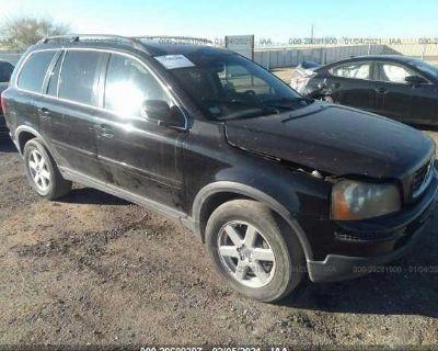 Salvage Black 2007 Volvo Xc90