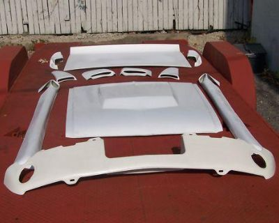 1967 1968 Mustang Coupe & Convertible 11 Piece Eleanor Style Hood & Big Body Kit