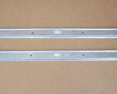Door Sill Trim Kick Plates, 1-pair, Left & Right, Used, 1970 Cadillac Eldorado