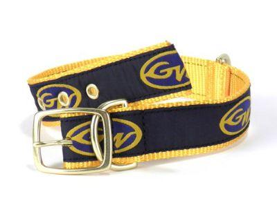 Grady White Boats Buddy Dog Collar Navy/yellow