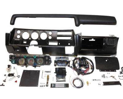 1970 Chevelle Ss Dash Kit Tach Gauges Radio Complete El Camino Heater Non Air