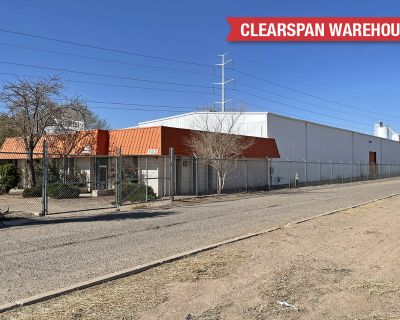 Warehouse/Office with Large Fenced Yard
