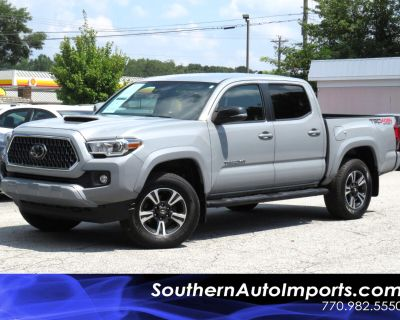 2018 Toyota Tacoma 4WD TRD Sport Double Cab 5' Bed V6 AT (Natl)