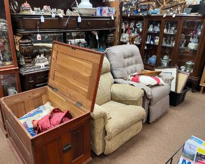 Another huge estate sale at the old Lake Harmony Firehouse by Caring Transitions