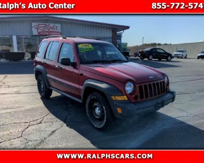 Used 2006 Jeep Liberty 4dr Sport 4WD
