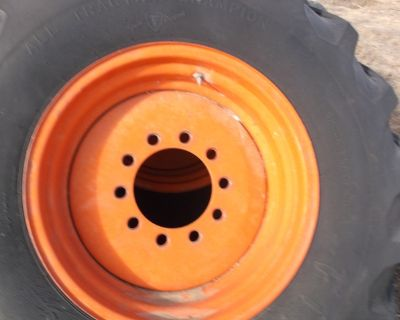 18.4 x 26 10 hole rim with tires