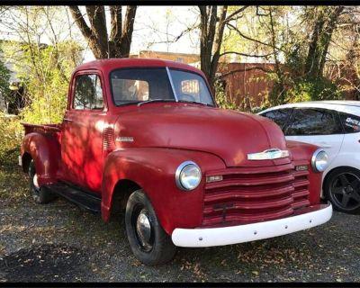 1952 Chevrolet 3-Window Pickup
