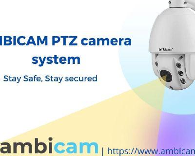 Ambicam provide Best 4G Dome PTZ security Cameras