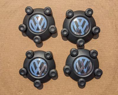 FS: OEM VW Steel Wheel Center Caps 5x112