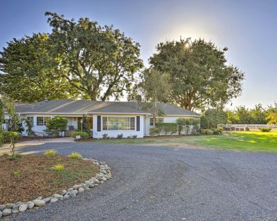 Charming Chico Ranch Home on 2+ Acres w/ Courtyard - Chico
