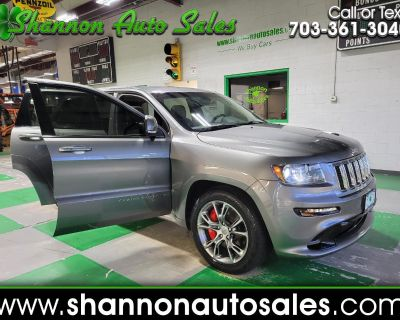 Used 2012 Jeep Grand Cherokee 4WD 4dr SRT8