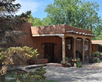 Charming Hacienda Style Adobe Enchants You - Los Ranchos de Albuquerque