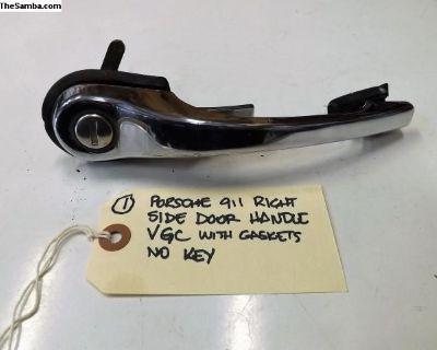 Porsche 911 Chrome Right Side Door Handle