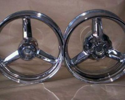 Suzuki Hayabusa, Gsxr Chrome Wheels Rims