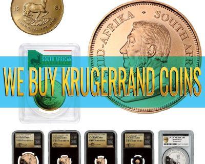 We Offer CASH for GOLD SOUTH AFRICAN KRUGERRANDS