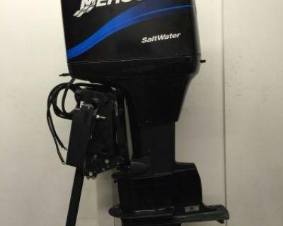 """2004 Mercury 125-hp 2 Stroke Outboard Motor Boat Engine 25"""" 115 150 90"""