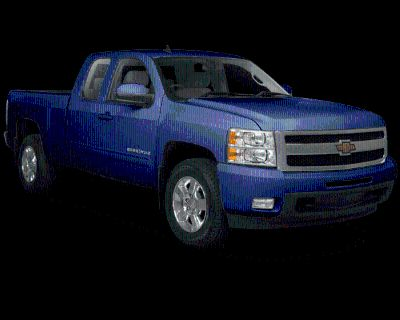 Pre-Owned 2010 Chevrolet Silverado 1500 LT 4WD 4D Extended Cab