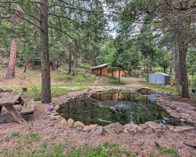 NEW! Studio Cabin < 5 Miles from Crest Trailhead! - Nogal