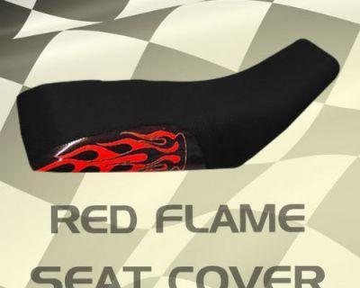 Honda Trx90 93-03 Red Flame Seat Cover #kli15752 Olj7762