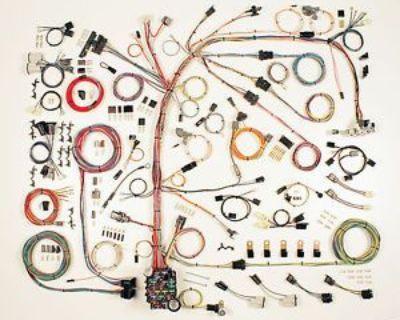 1974-1977 Camaro Wire Wiring Harness Aaw Classic Update 510567