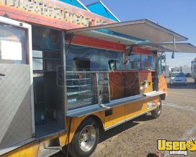 Used GMC Stepvan P30 Step Van Kitchen on Wheels w/ Pro Fire Suppression System