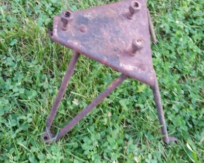 1955 1966 ChevY Truck step side Spare Tire Carrier Bracket Mount 1957 1958 327