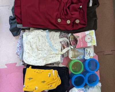Nursing clothes lot plus baby stuff