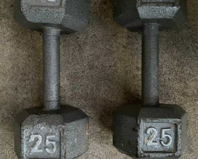 25 # WEIGHTS . BOTH FOR $ 20.00